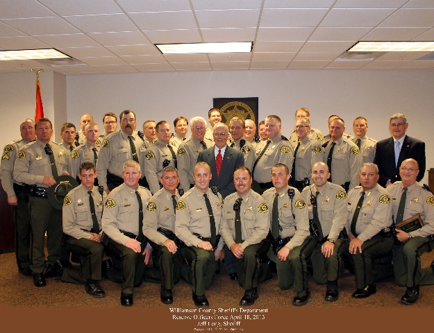 Reserve Deputy Program | Williamson County, TN - Official Site
