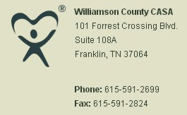 williamson county casa logo