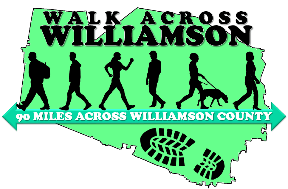 Walk Across Williamson Logo