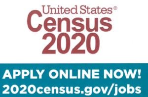 US census jobs logo
