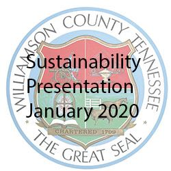 JJoint Williamson County and City of Franklin Planning and Sustainability Presentation-January2020