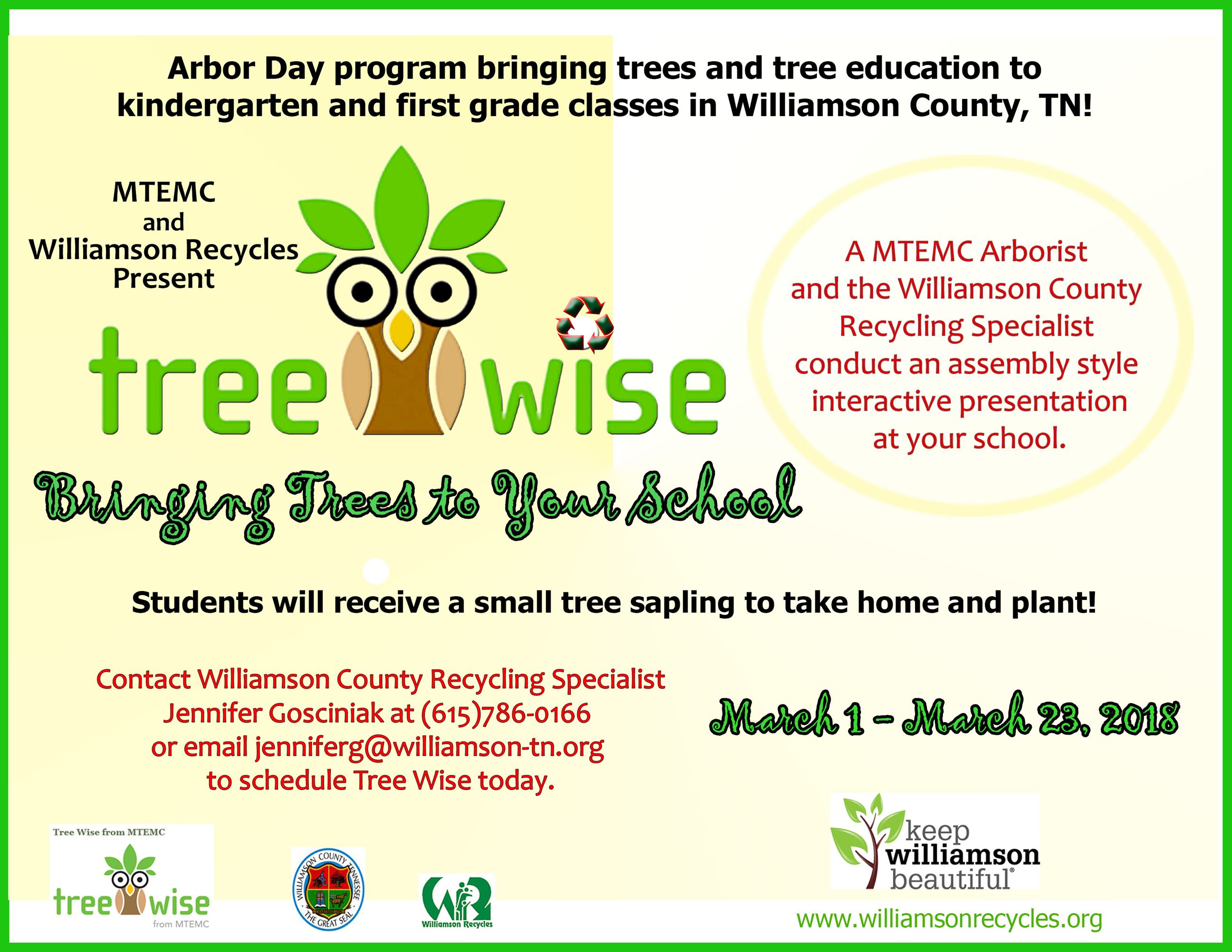 Tree Wise Flyer 2018