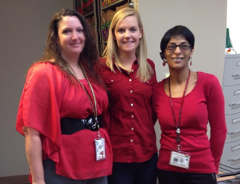 VeenaJenniferCi Red Day 2014