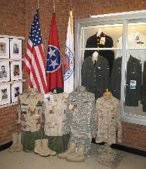 Military items Wm. Co. Museum.jpg