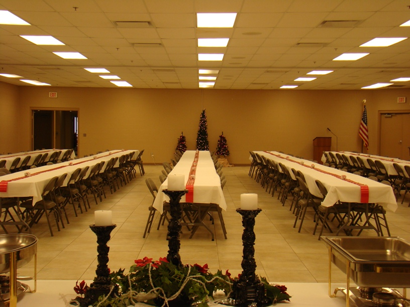 45' x 90' Meeting Room