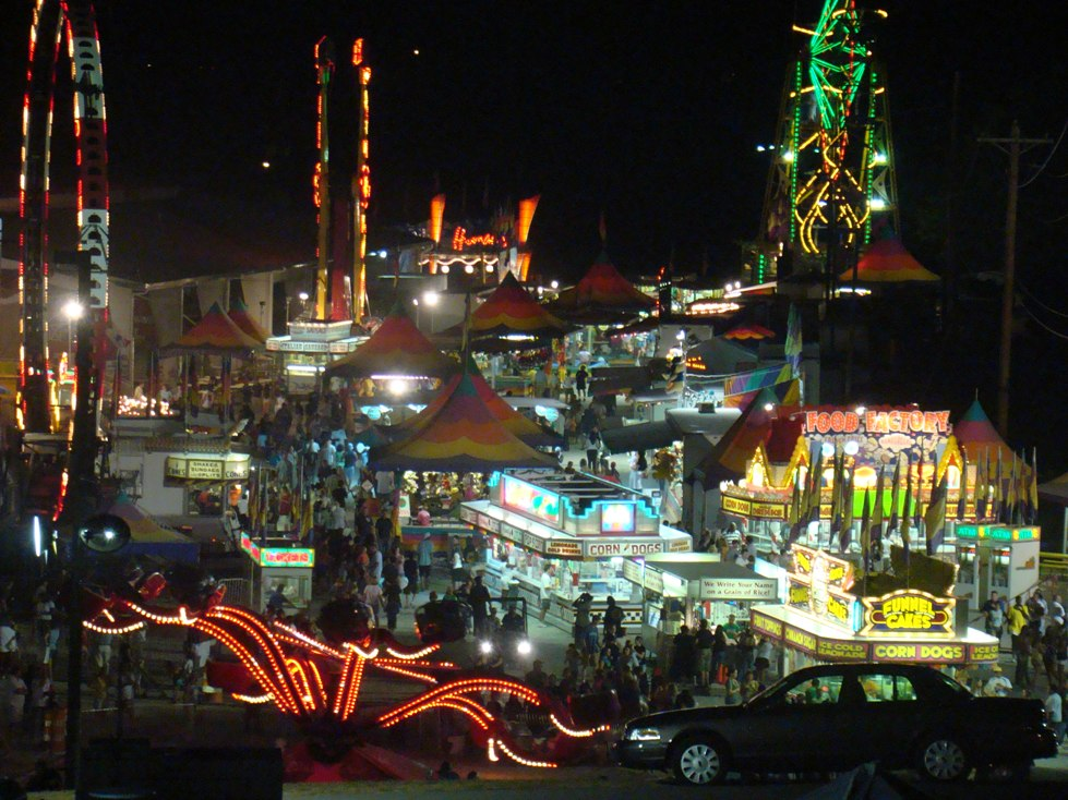 Williamson County Fair Midway